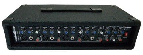 Mezcladora Amplificada De 4 Canales 1000w Schalter Pro Audio