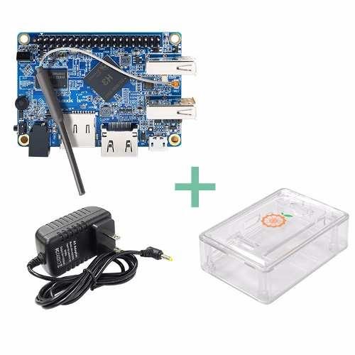 Kit Orange Pi Lite Cargador 3a Case Retropie Raspberry