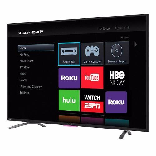 Pantalla Sharp 43 Pulgadas Hd Roku Smart Tv Nueva Hdmi Wi-fi