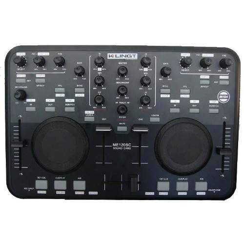Mezcladora Consola Mixer Controlador Usb Virtual Dj Mixtrack