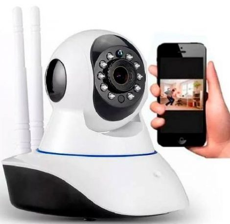 Camara Ip 360 Wifi + Ethernet